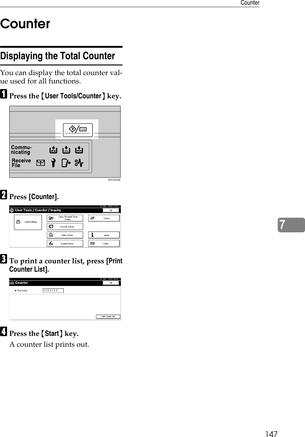 Lanier Ld225 Users Manual