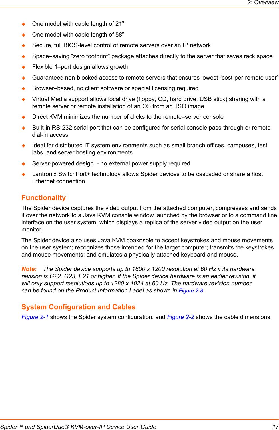Lantronix Securelinx Spiderduo Kvm Switch Slslp400Ps201