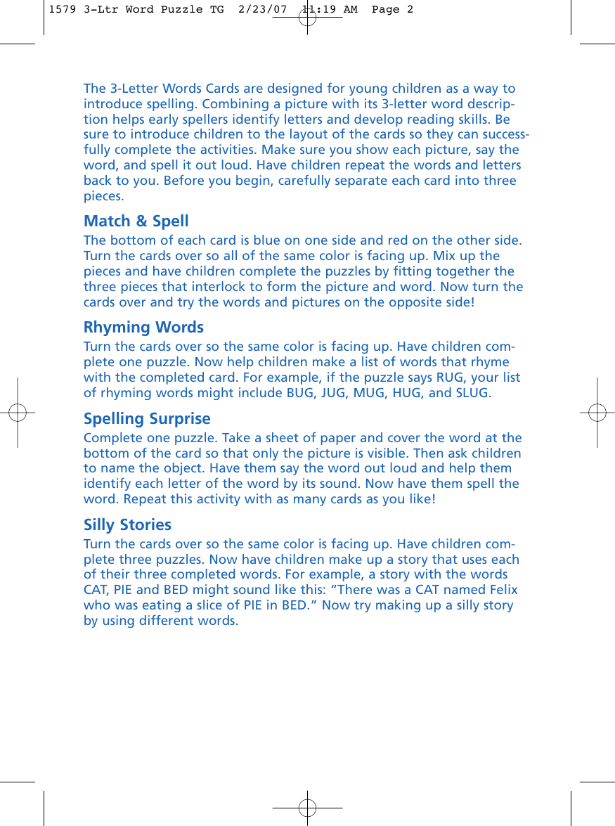 Page 2 of 2 - Learning-Resources Learning-Resources-3-Letter-