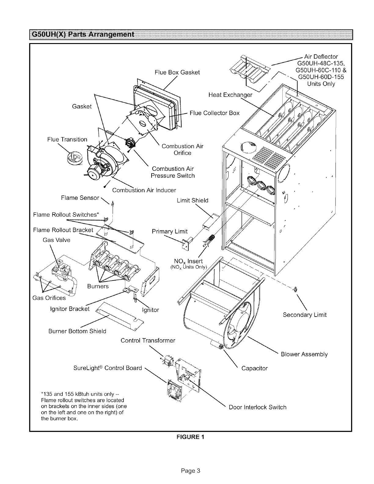 lennox international inc g50uh 24a 045 users manual Tempstar Furnace Blower Motor Replacement