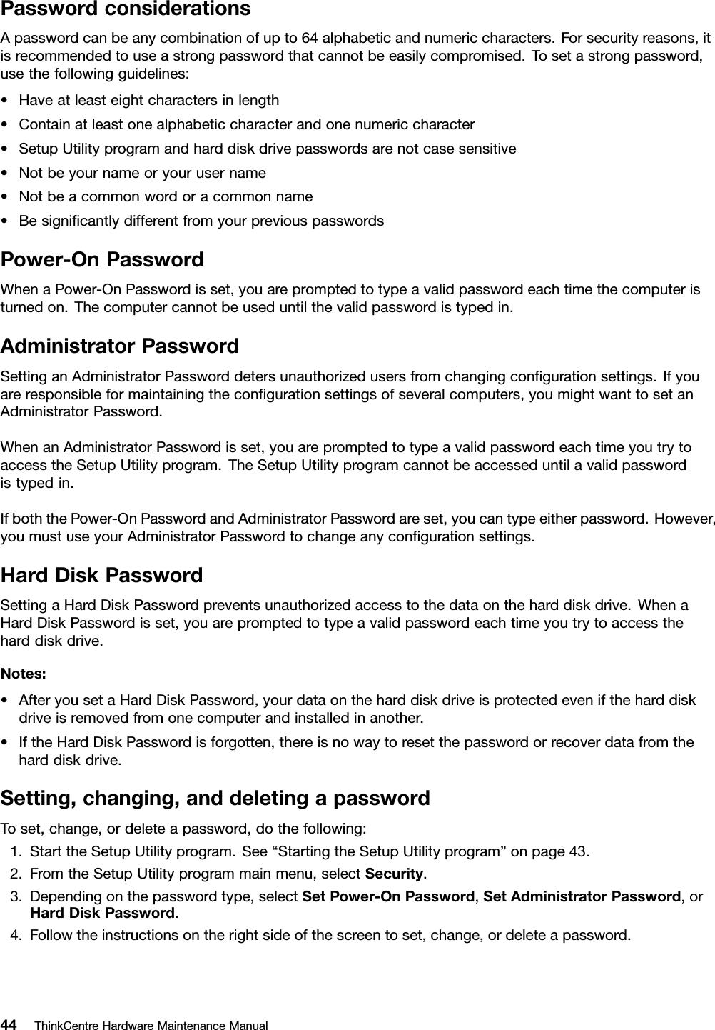 Lenovo 0B01241 User Manual Hardware Maintenance (HMM) (May