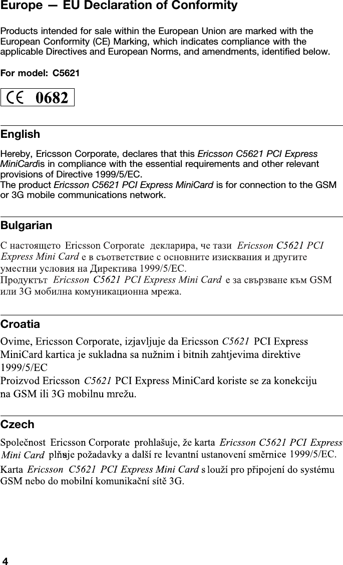 Karta Za Thailand.Lenovo 0b48907 User Manual Regulatory Notice For C5621 Wwan