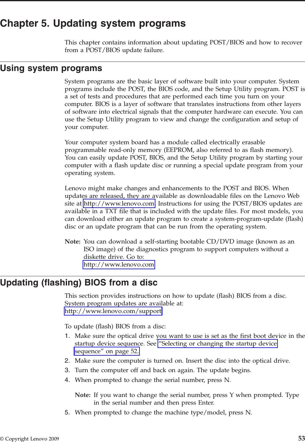 Lenovo 53Y6289E User Guide Manual English (User Guide) A58 Desktop