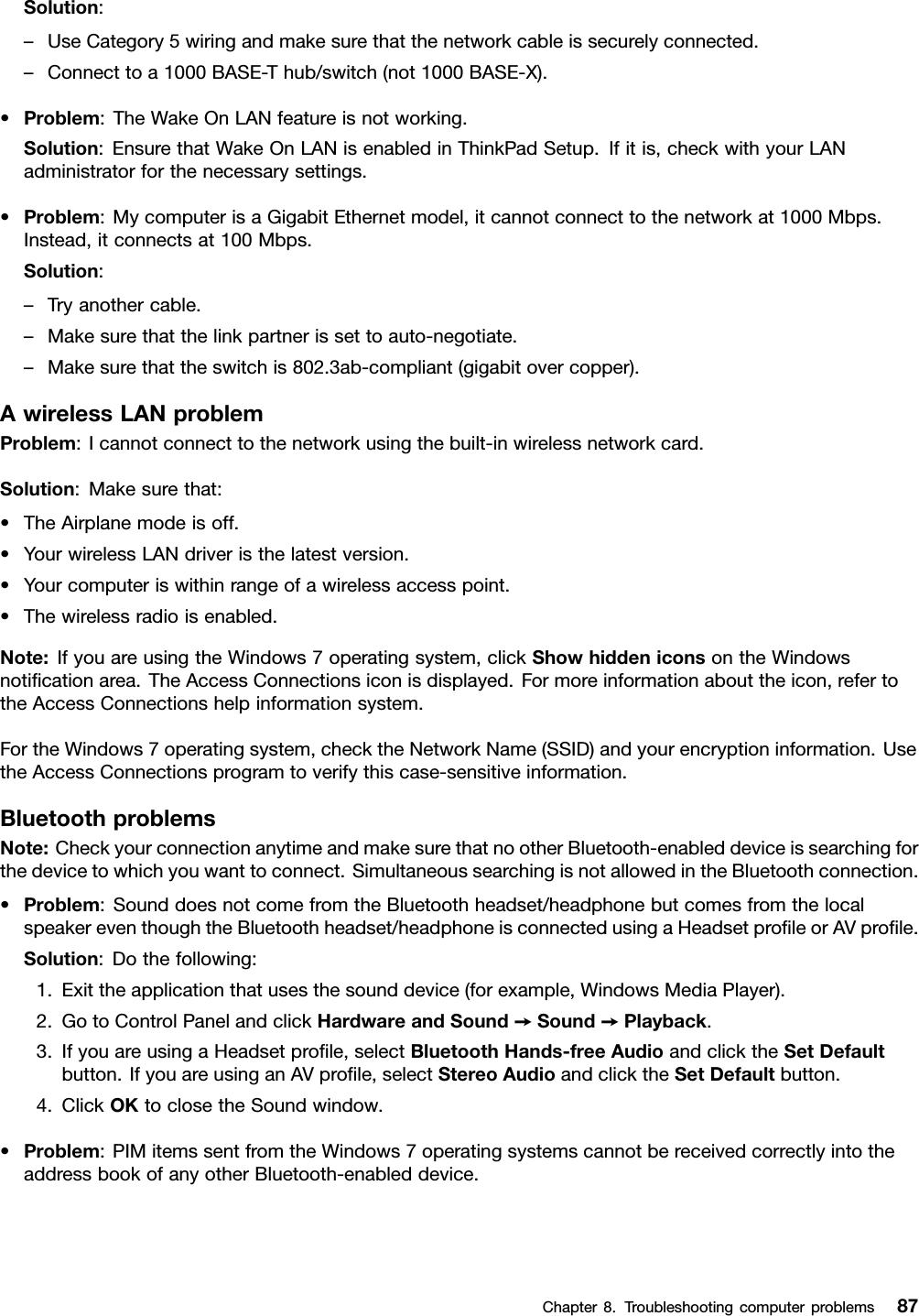 Lenovo E560 E565 Ug En User Manual (English) Guide Think Pad