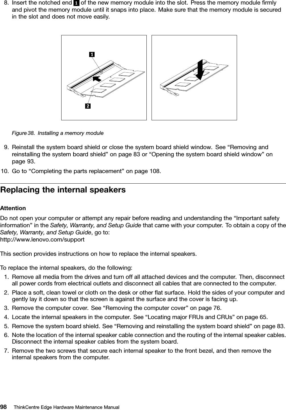 Lenovo Edge92Z Hmm Us User Manual Edge 92z All in One (Think
