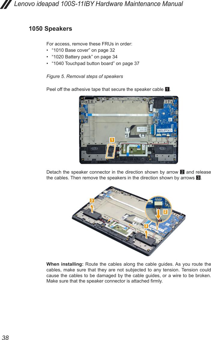 Lenovo Ideapad 100S 11 Iby Hmm 201509 11IBY User Manual Hardware