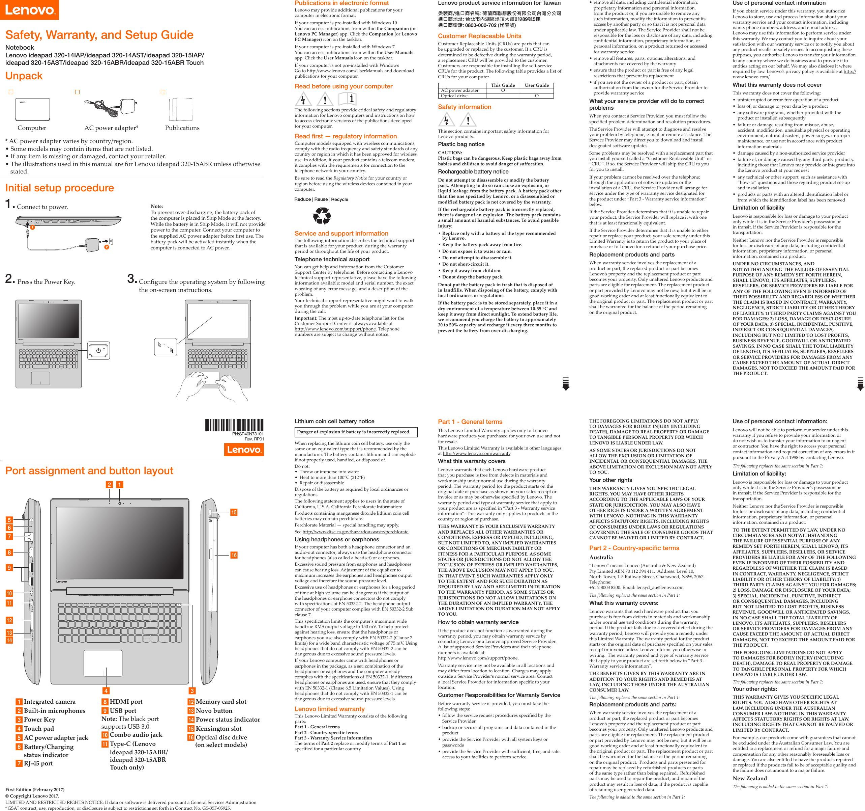 Thinkpad Audio Jack Wiring Diagram Electrical Diagrams Lenovo Usb Ideapad320 14iap 320 15iap 14ast 15ast 15abr 15abrtouch Swsg Capacitor