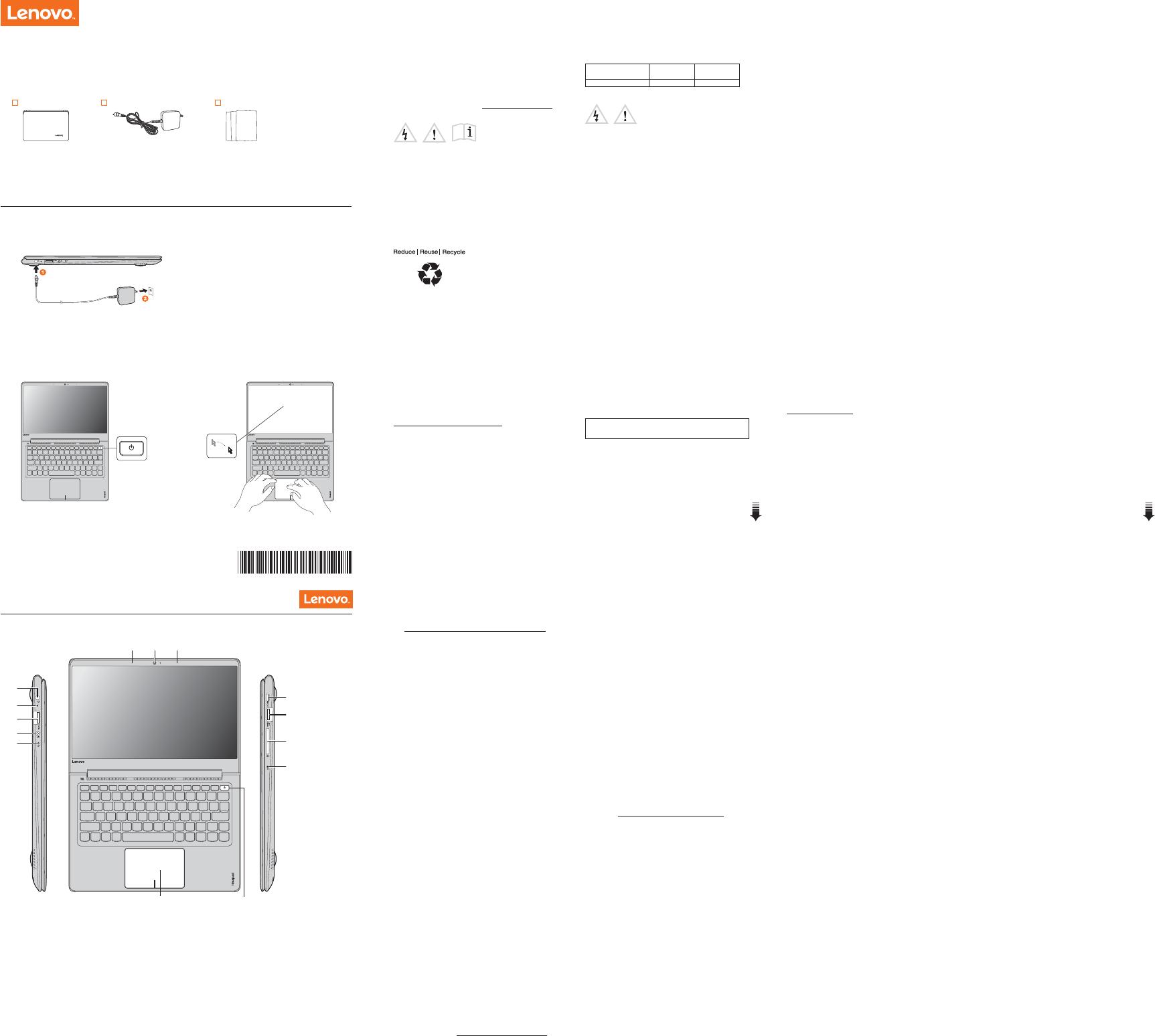 Lenovo Ideapad 710S 13Ikb Swsg Es 201608 User Manual