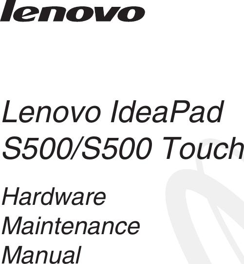 Lange Hängele lenovo ideapad s500s500touch hmm v1 0 user manual hardware