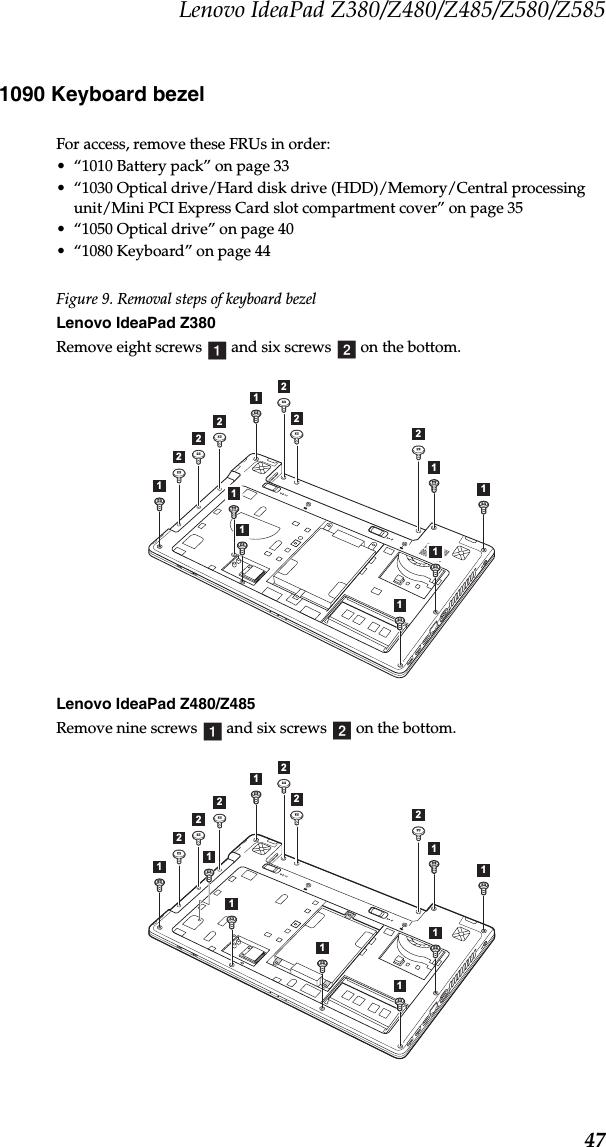 Lenovo Ideapad Z380 Z480 Z485 Z580 Z585 Hmm 1St Edition Feb