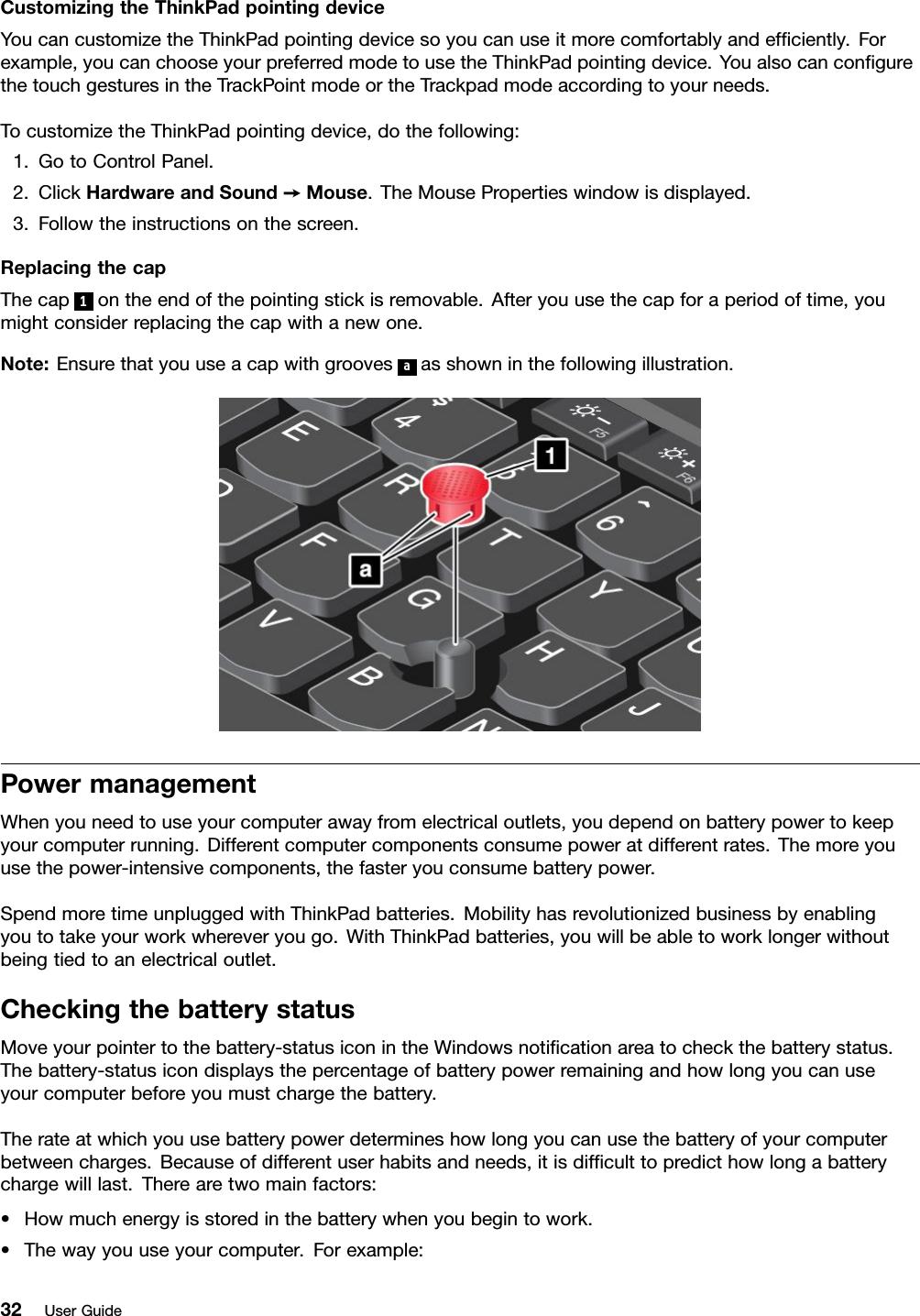 Lenovo L440 L540 Ug En (English) User Guide ThinkPad And