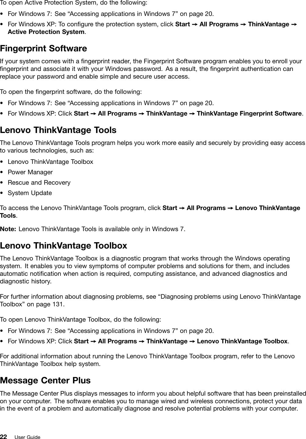 Lenovo E420 Users Manual