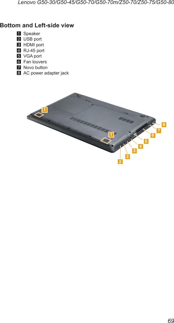 Lenovo G Z 50 Series Hmm G5080 User Manual Hardware