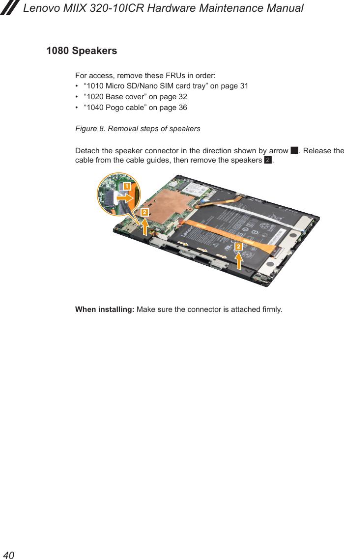 Lenovo Miix 320 10Icr Hmm 201703 Miix320 User Manual Hardware