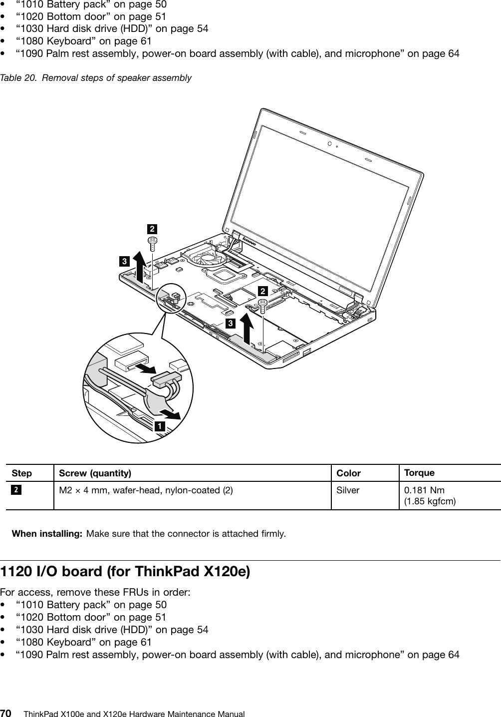 Lenovo Thinkpad X120E Users Manual