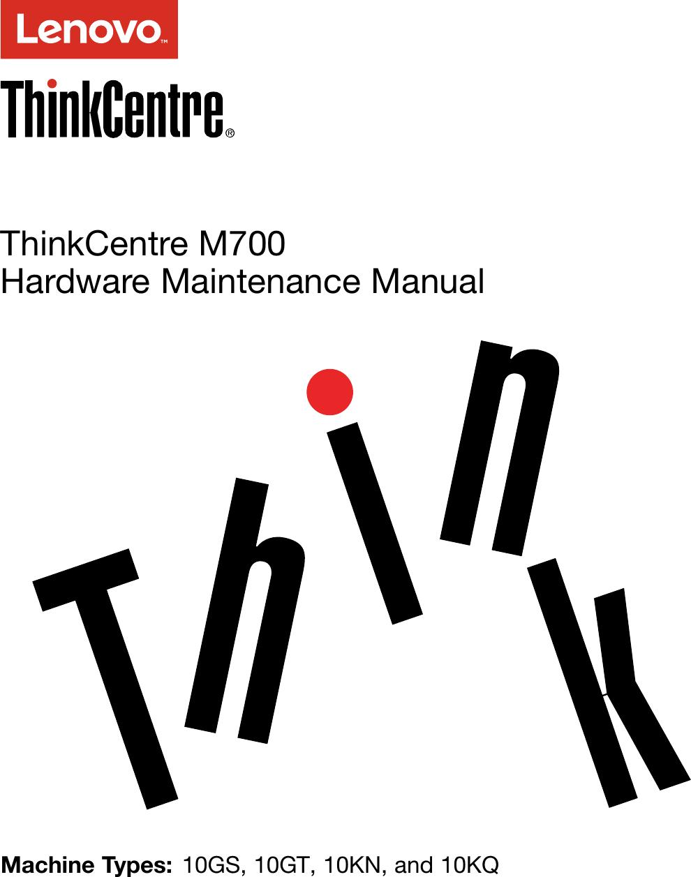 Lenovo M700 Sff Hmm User Manual Hardware Maintenance (HMM