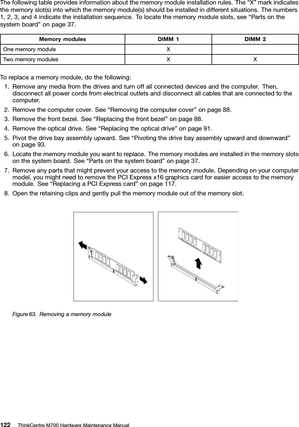 Lenovo M700 Sff Hmm User Manual Hardware Maintenance (HMM) (Small