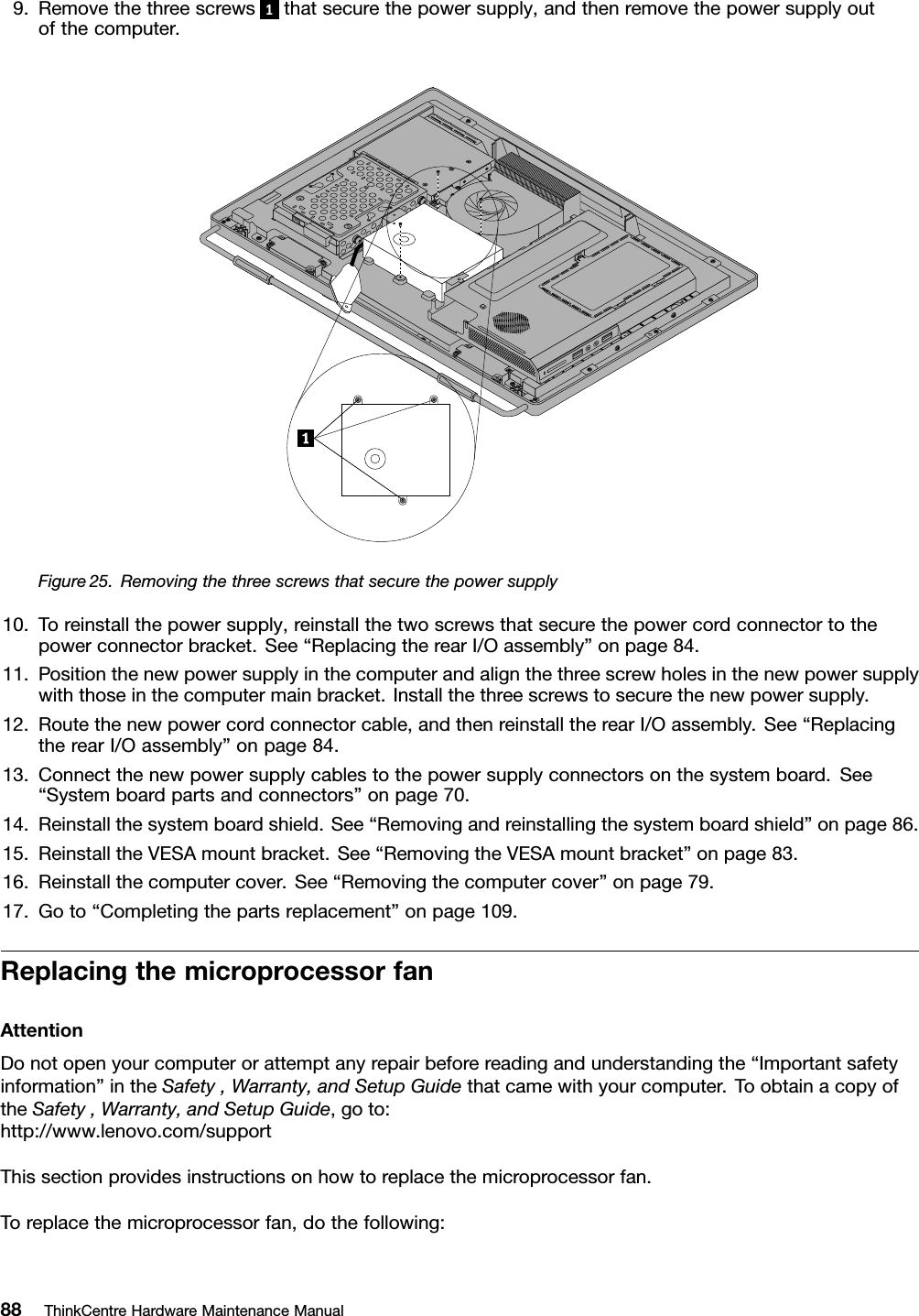 Lenovo M72Z Hmm Us User Manual All in One (Think Centre