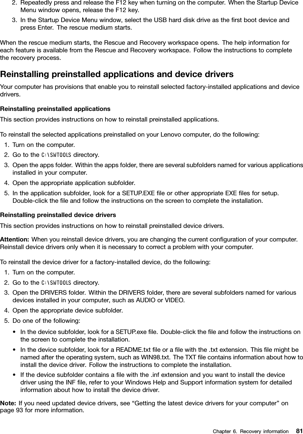 Lenovo M92P Tiny Ug En User Manual (English) Guide For Form Factor