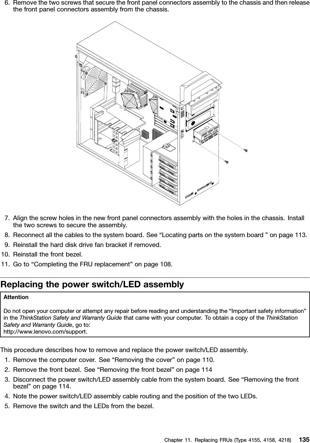 Lenovo S20 Hmm User Manual Hardware Maintenance D20 Workstation