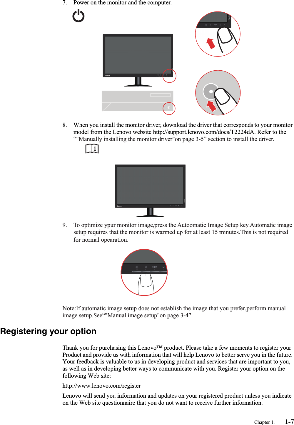 Lenovo T2224D 60Eb Usereng User Manual (English) Guide For Think