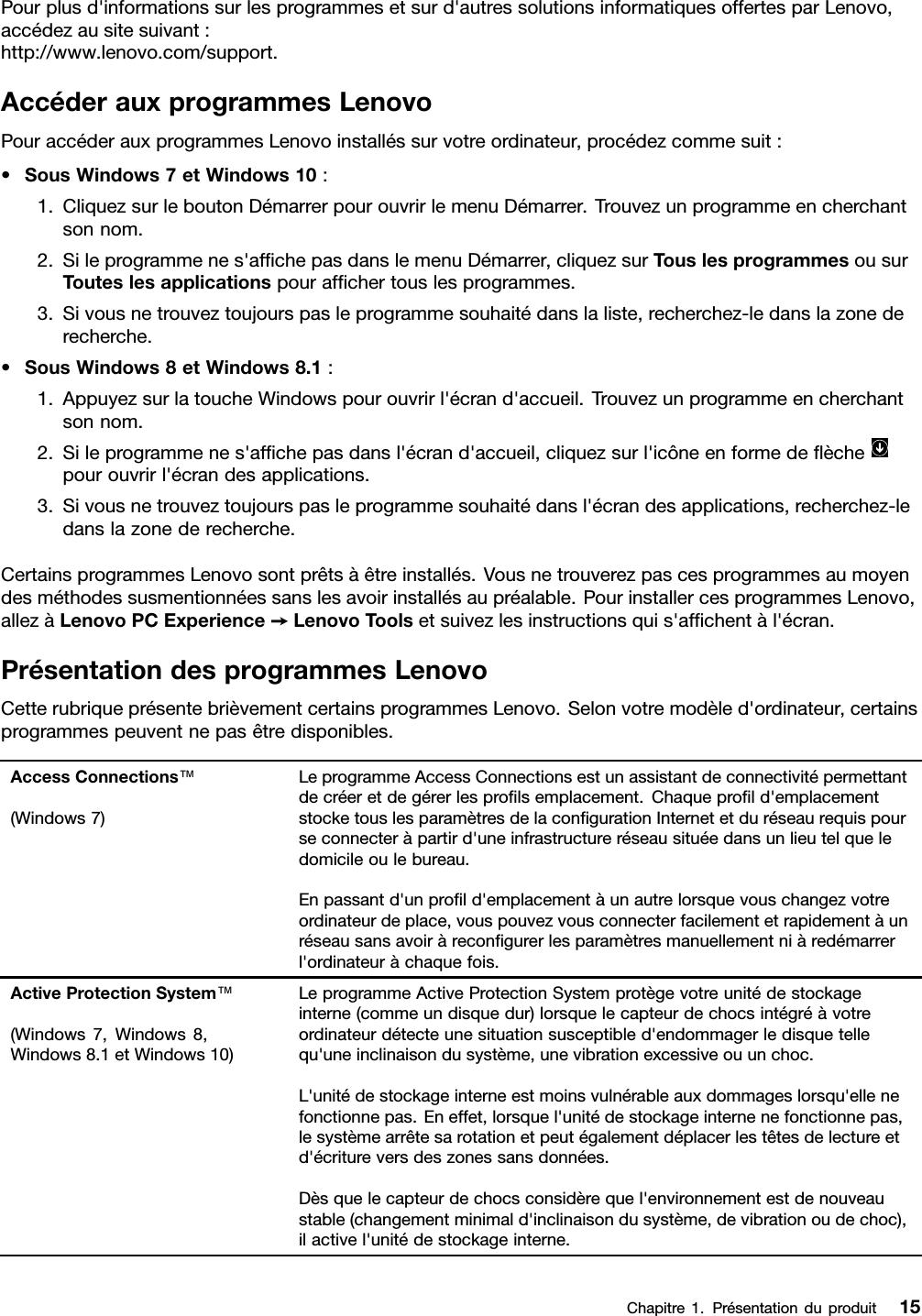 Lenovo T440P Ug Fr (French) User Guide ThinkPad Laptop (ThinkPad