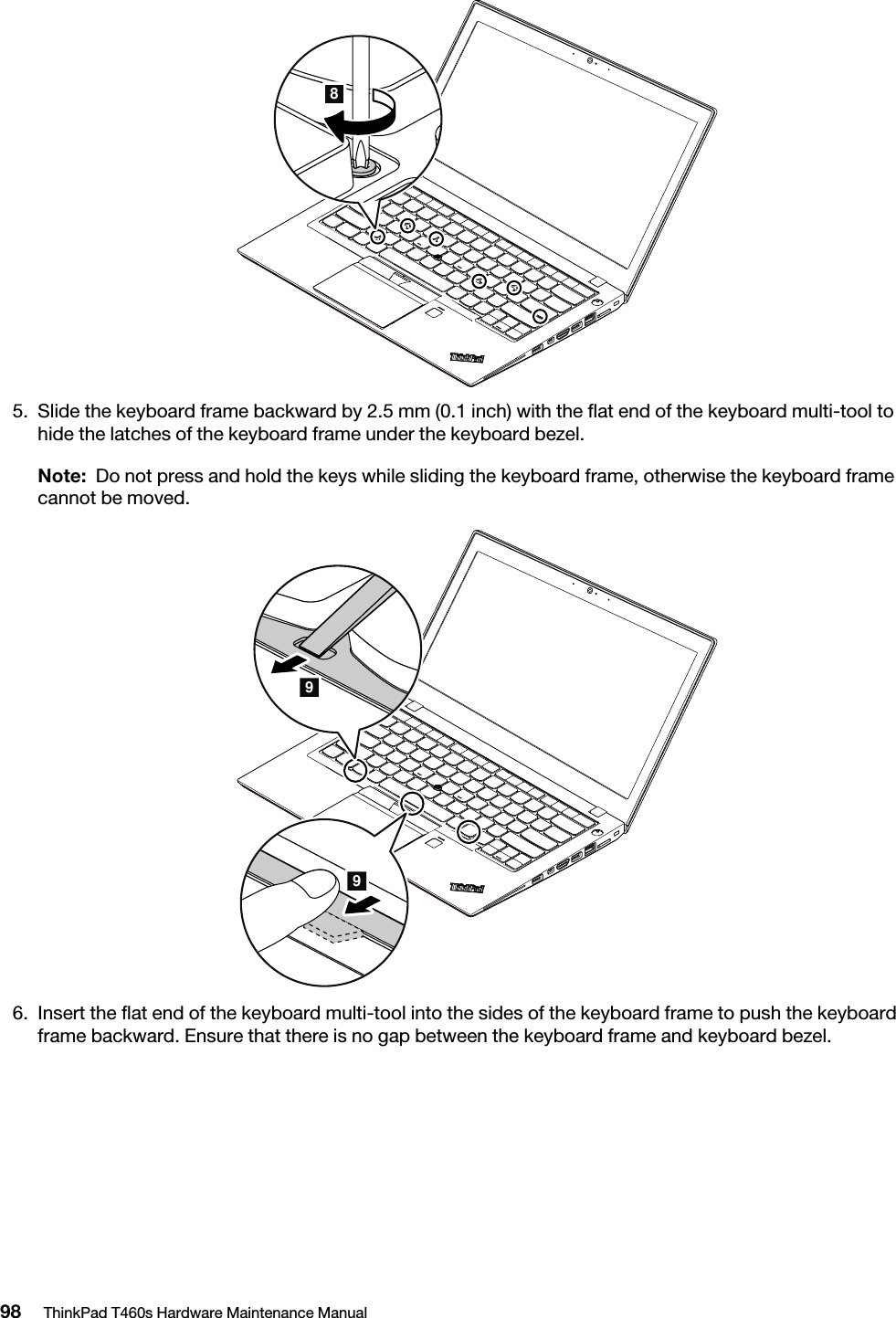 Lenovo T460S Hmm En Sp40K04862 03 ThinkPad Hardware