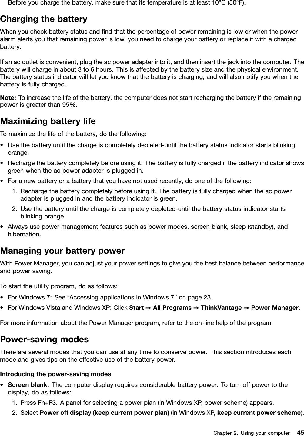 Lenovo T520 T520I W520 Ug En User Manual (English) Guide