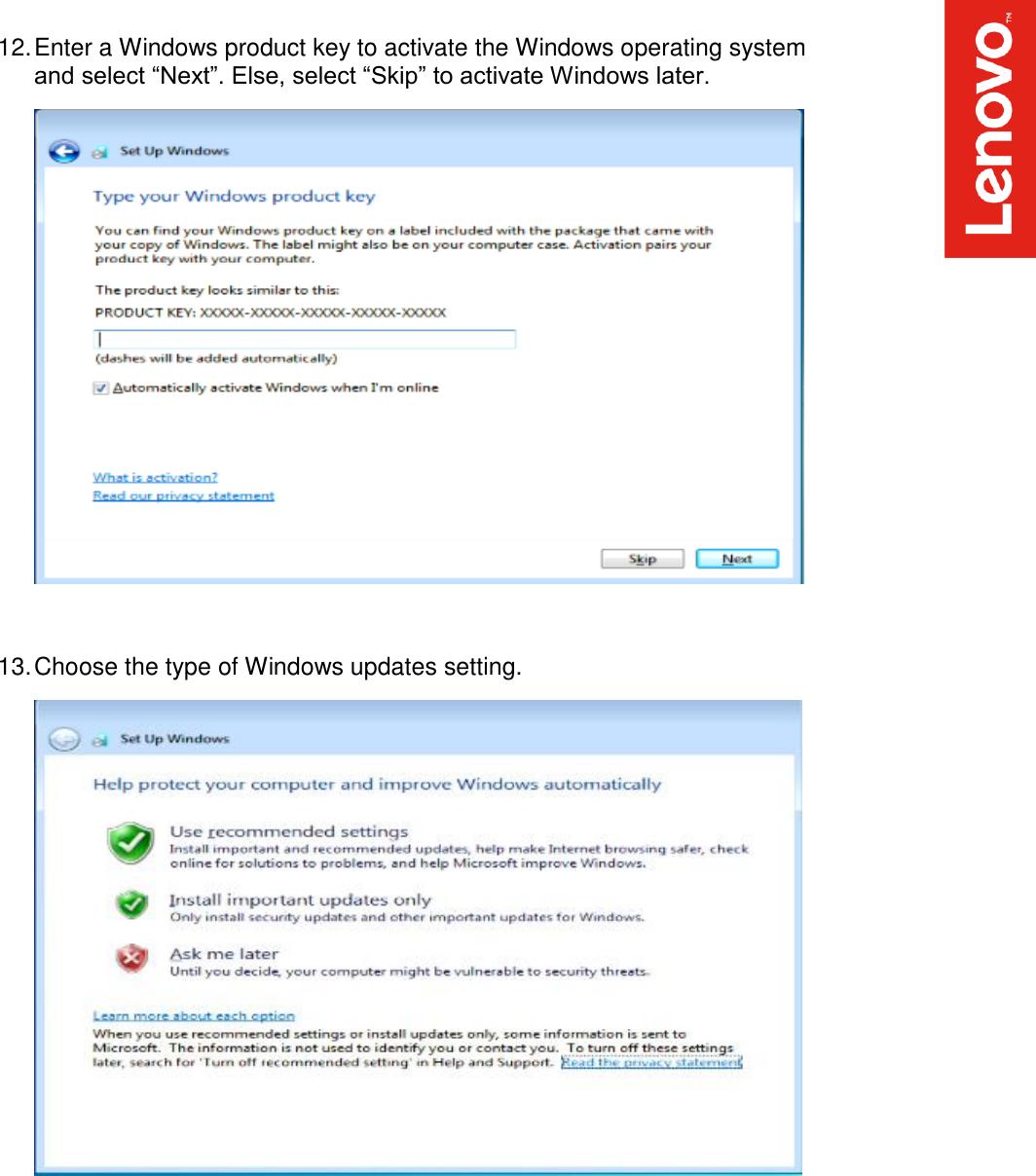 Lenovo Thinkstation P520C P520 P720 P920 Win7 Installation