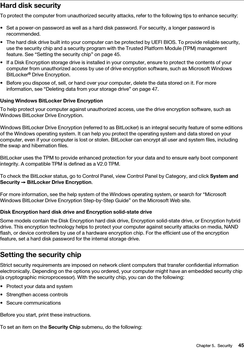 Lenovo Tp13 20J1 20J2 Ug En ThinkPad 13 2nd Gen User Guide