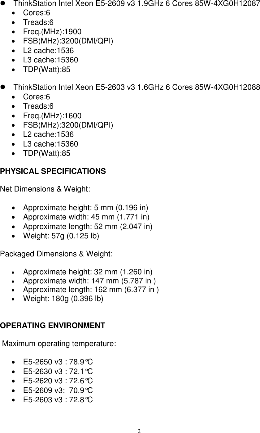 Lenovo Tsn New Cpu 4Xg0H12084 User Manual P700 Workstation (Think
