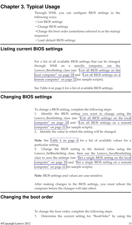 Lenovo Wmi Dtdeploymentguide M92 User Manual BIOS Windows