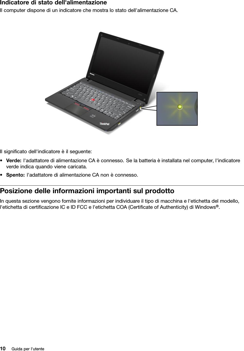 Autentico Originale Caricatore Laptop Lenovo Ideapad AC Adapter Alimentatore Cavo Di Piombo