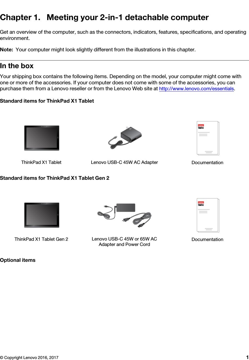 Lenovo X1 Tablet Gen 2 Ug En / User Guide Manual (English) Think Pad
