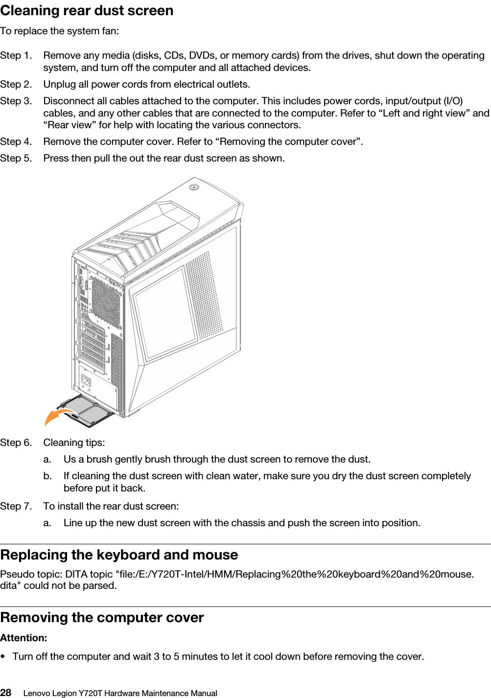 Lenovo Y720T 34Ikh Hmm 20170814 Legion Hardware Maintenance