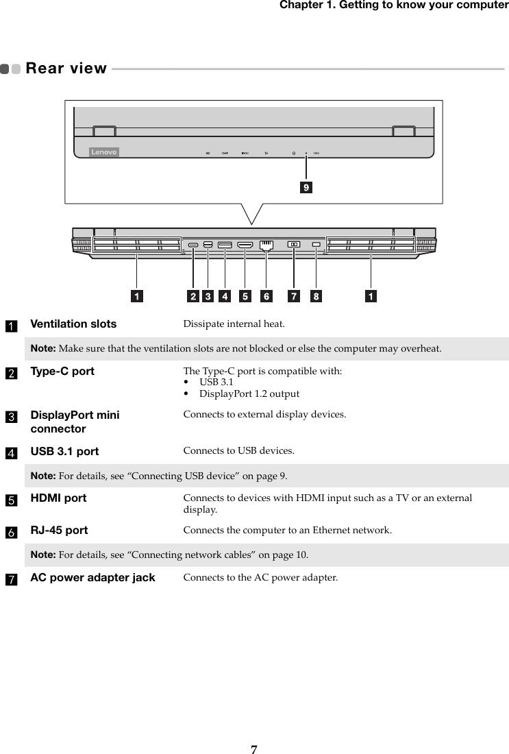 Lenovo Legion Y530 15ICH UG EN User Guide Laptop (Lenovo) Legiony530