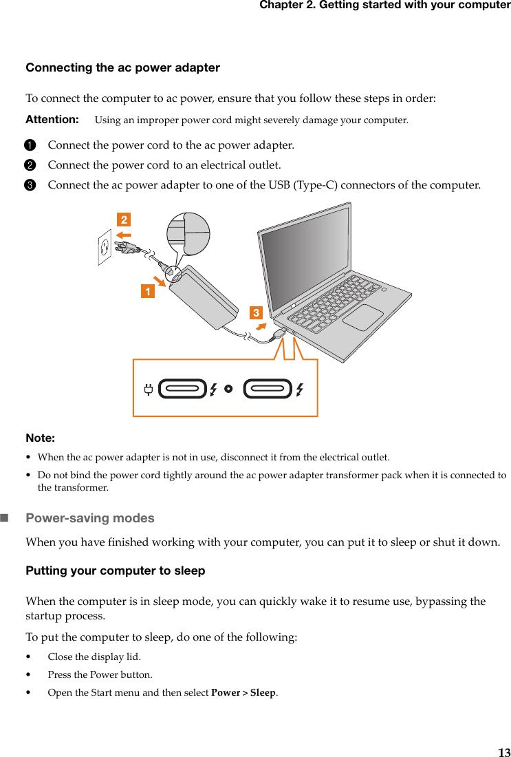 Lenovo YOGA C930 13IKB UG EN User Guide Laptop (Lenovo) Type