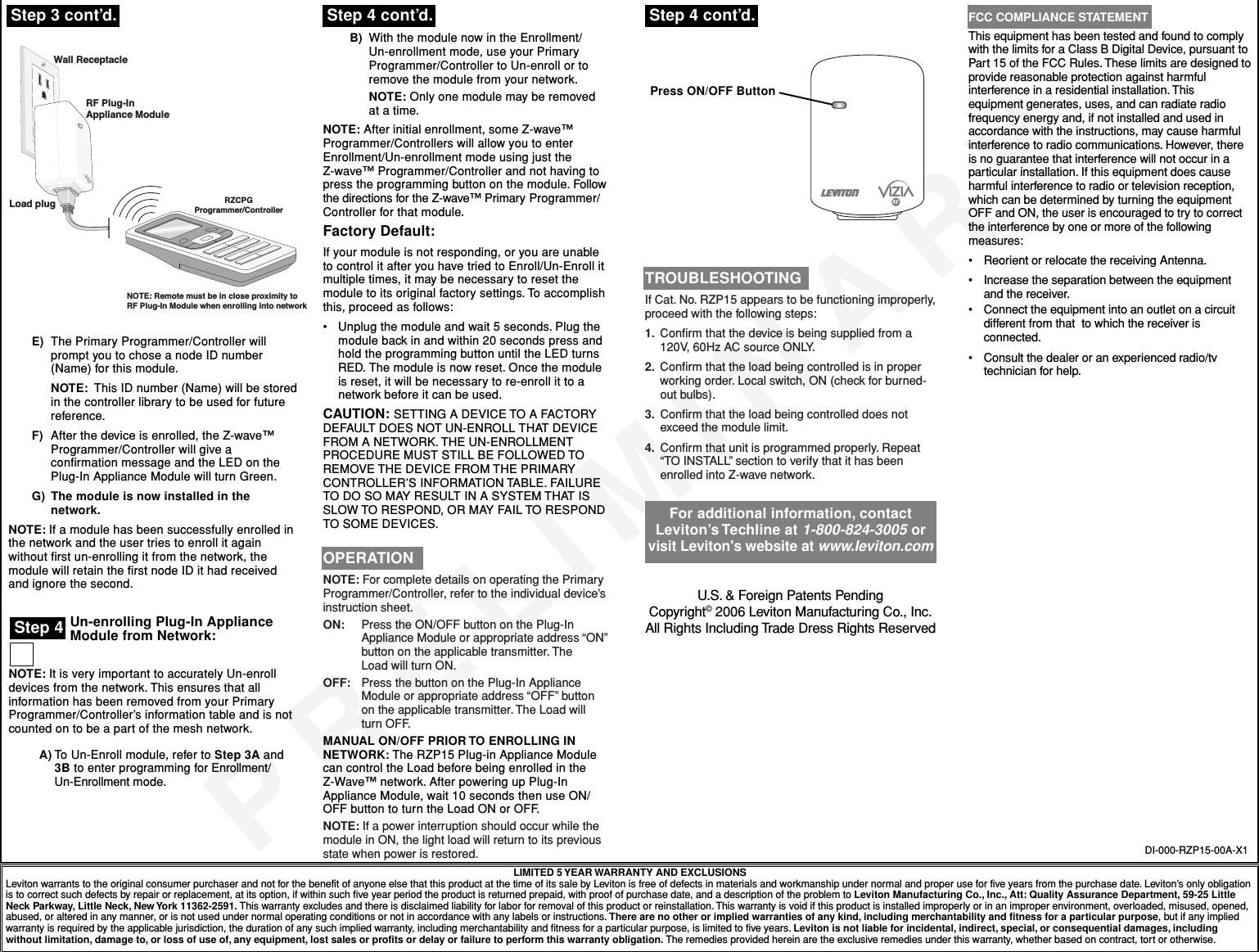 Nice Leviton 9454 Illustration - Electrical Diagram Ideas - itseo.info