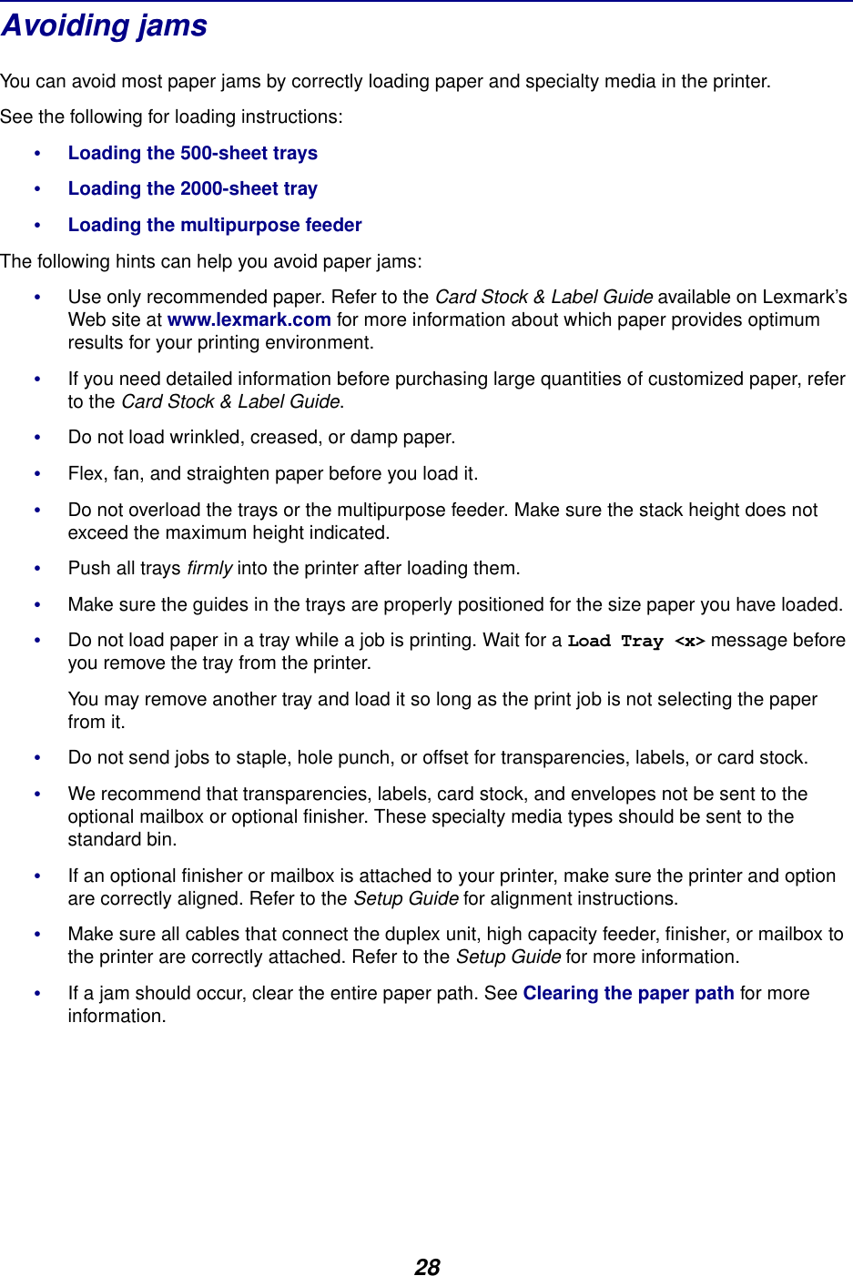 Lexmark C750 Owner S Manual User's Guide