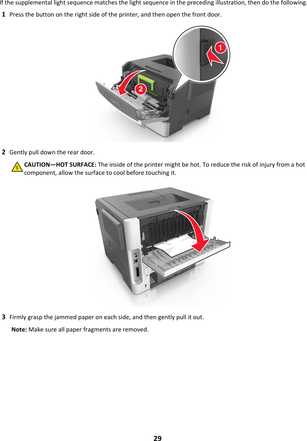 Lexmark Ms310 Quick Reference Guide