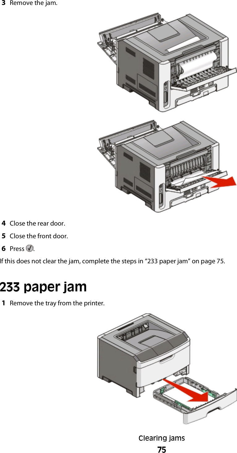 Lexmark Series E460Dw Users Manual User's Guide