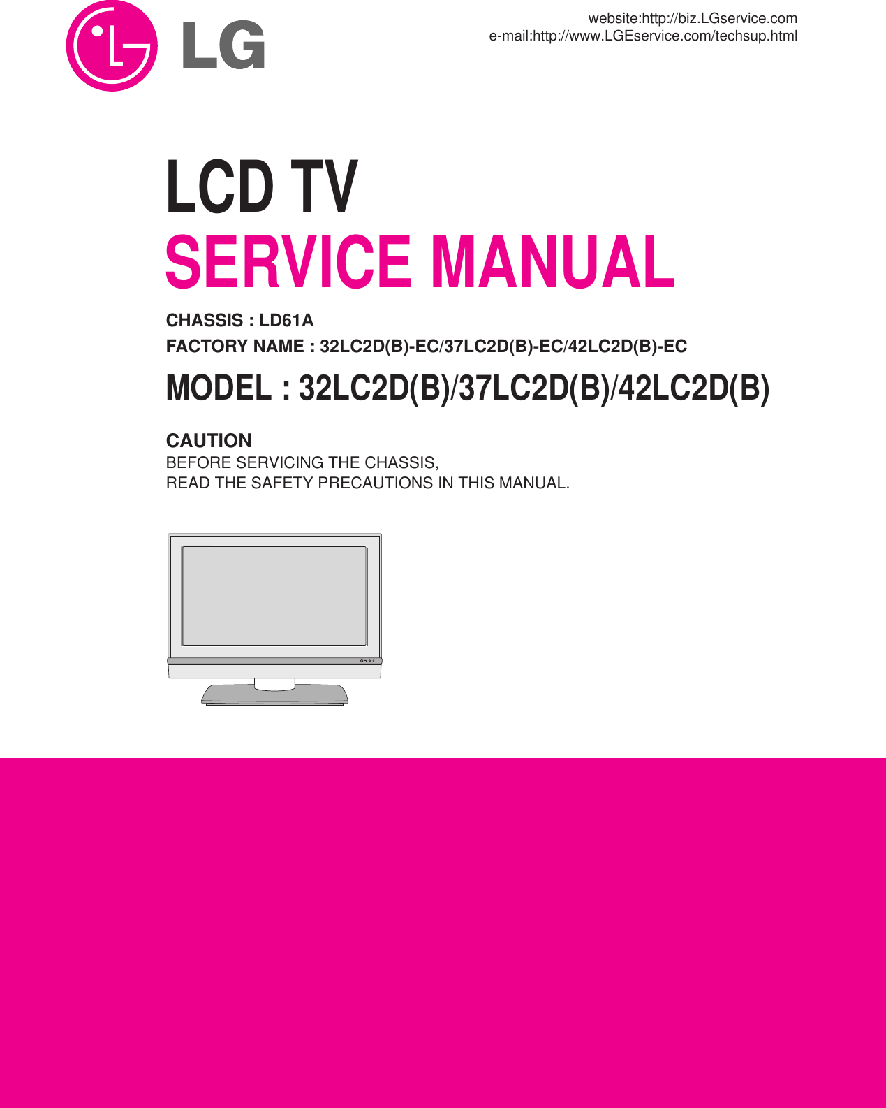 lg 32lc2db users manual cover rh usermanual wiki Service Station Owner's Manual