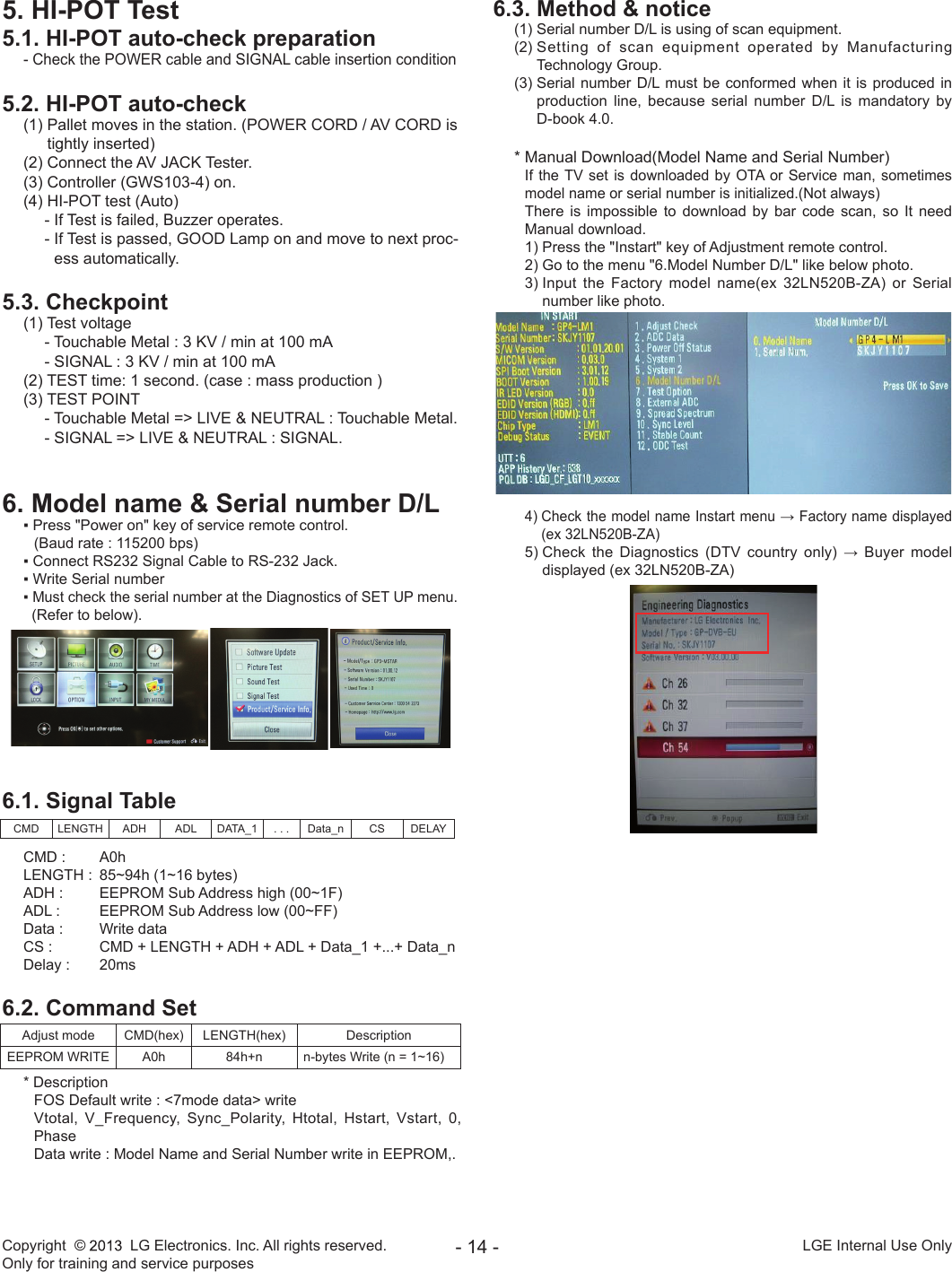 Lg 32Ln52 Za Users Manual