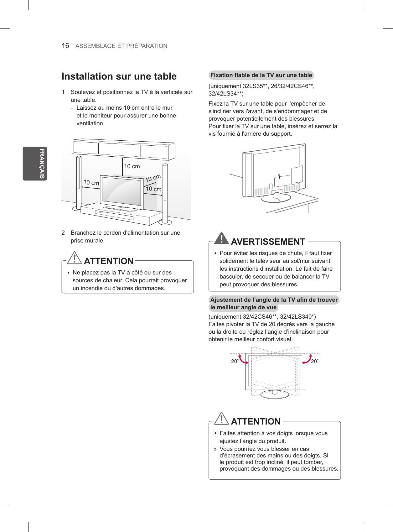 Lg 32ls3500 Users Manual Microsoft Mfl67409503_lcd  # Une Table A Tv