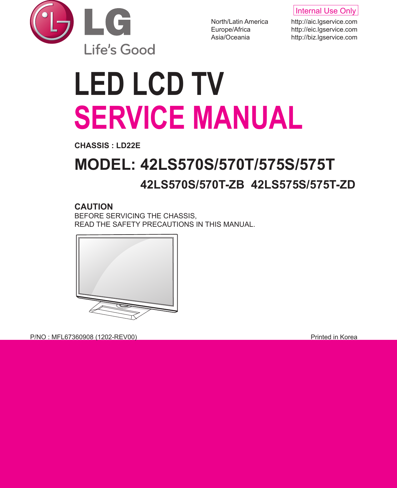 Lg 42ls570s Users Manual 1995 Bmw Fuse Box The Little E35 Before