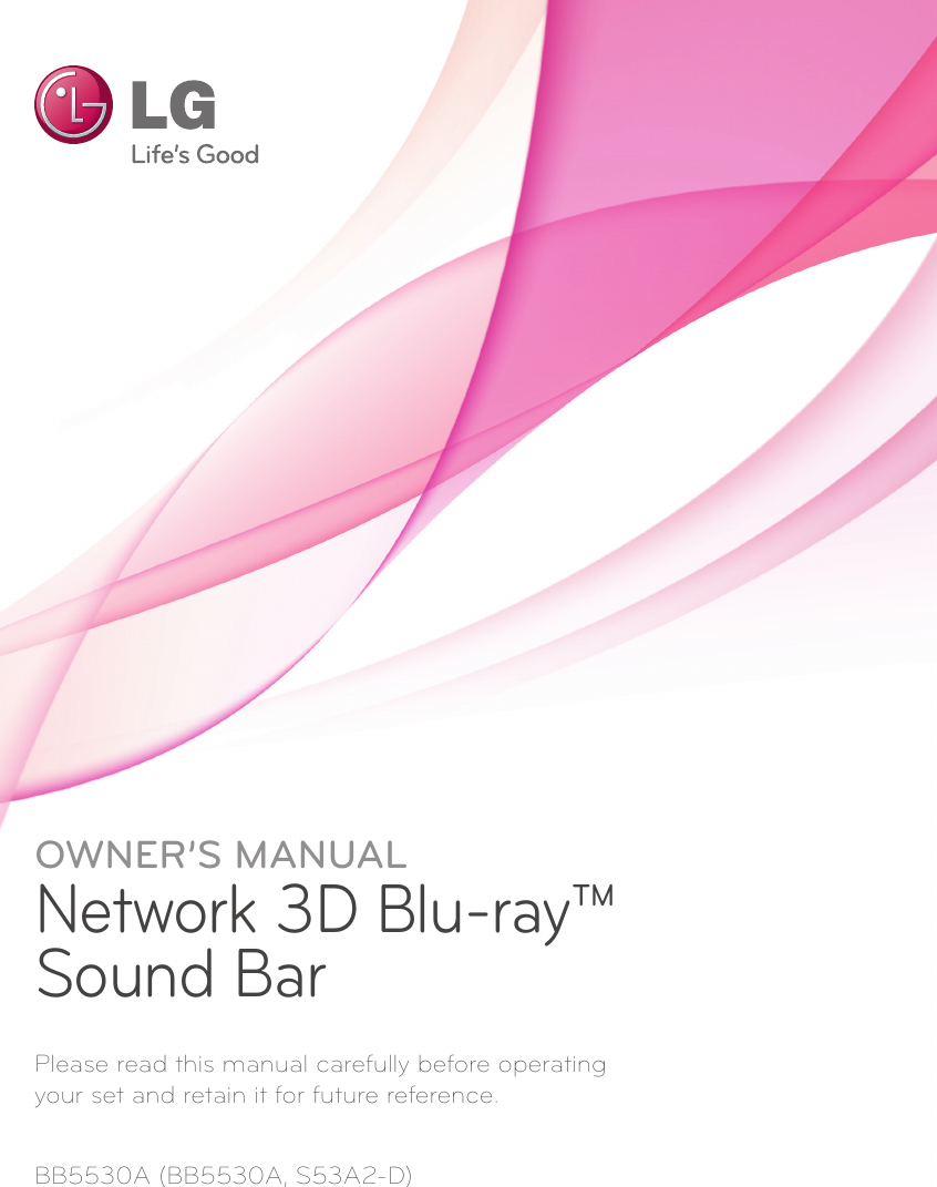 lg bb5530a owner s manual