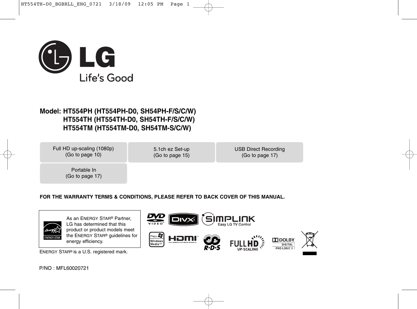 Lg Ht554th Owner S Manual D0 Bgbrll Eng 0721 Wiring Meaning In Bengali