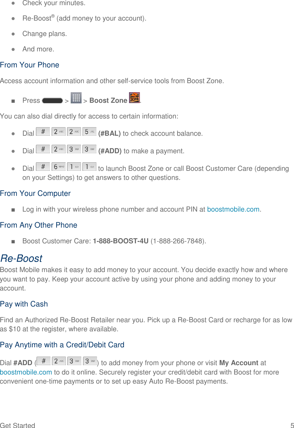 Lg Ls620 Boost Mobile User Guide