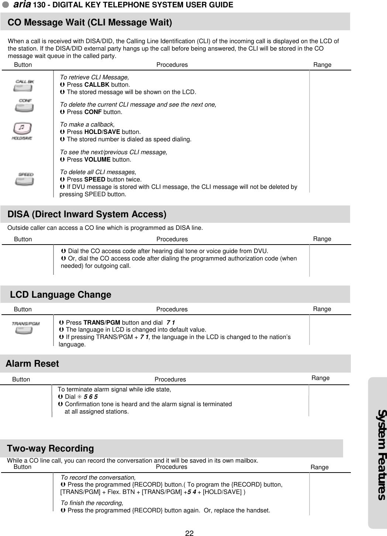 Lg Telephone Aria130 Users Manual