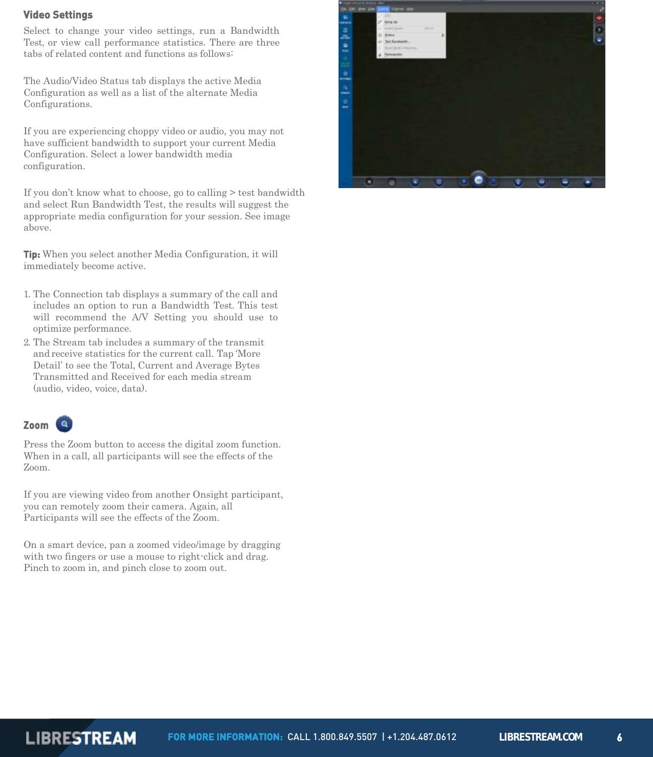 LibreStream Technologies 5000HD Onsight 5000HD User Manual